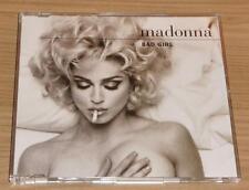 MADONNA Bad Girl b/w Erotica GERMAN 4 TRACK CD SINGLE 9362-40789-2 MINT!!