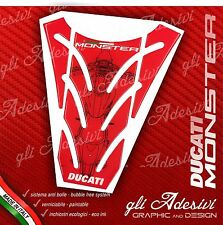 Paraserbatoio Resinato Sticker 3D DUCATI MONSTER 696 796 1100 mod. P1