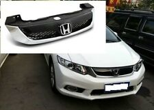 2012 HONDA CIVIC 4DR SEDAN MODULO STYLE BLACK CHROME ABS FRONT HOOD GRILL GRILLE