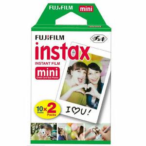 Fujifilm Fuji Instax Mini Colour Instant Film Twin Pack 20 shots