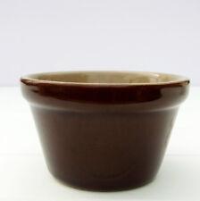 Vintage Rustic Pearsons Stoneware Pudding Basin Small Casserole Dish