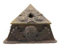 Phurpa Grand Rame Per Phurba Vajra Kila Testa Da Teschio Stand 25789