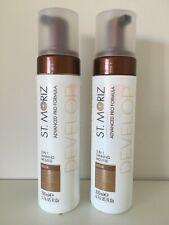 2 X St Moriz Advanced Pro Formula 5-in-1 Self Tan Develop Mousse 200ml Medium
