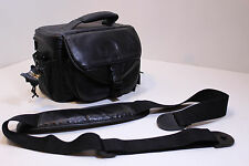 Deluxe Leather Camera Case Bag For Canon EOS Rebel T4i T5 T5i SL1 XS Xsi NICE!!