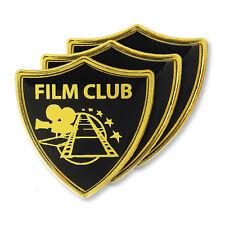 'Film Club' Subject Shield School Badge