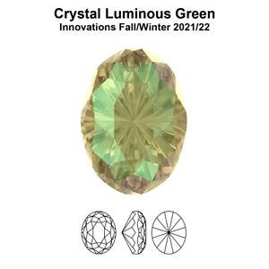 Genuine SWAROVSKI 4160 Mystic Oval Fancy Stones Crystals * Many Colors