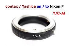 C / Y - Al  Contax Yashica  Objektiv Lens Adapter an-To Alle Nikon F Kamera AI