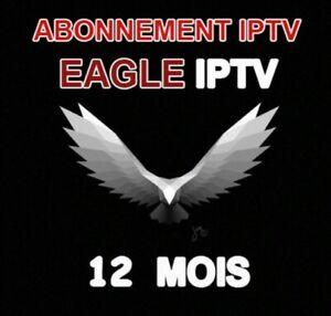 Abonnement IP.TV 12 mois(+40000-4K-M3U-SMAR'TV-ANDROID-MAG)