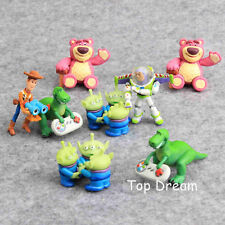 Toy Story 3 Woody Buzz Lightyear Rex Figura de Acción Juguetes en Caja De Regalo De Colección