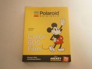 【NEW】Polaroid ORIGINALS  600 Film Mickey's 90th Anniversary Edition From Japan
