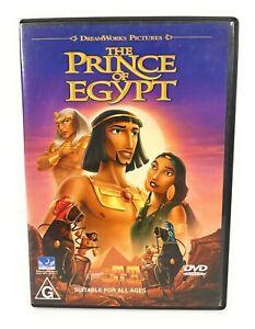 The Prince of Egypt (DVD, 1998) Val Kilmer Region 4 Free Postage