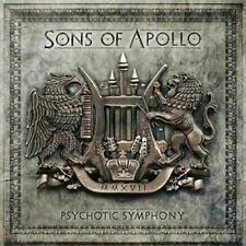 Psychotic Symphony 2 cd set LIMITED EDITION SONS OF APOLLO