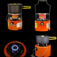 Portable Gas Heater Warmer - Foldable Gas Stove for Camping Hiking Backpacking -