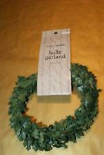 Nicole Simply Winter Holly Garland (9Ft) ~ New/Tag!