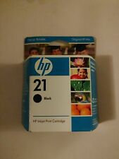 HP 21 New Genuine OEM Black Ink Cartridge - C9351AN Exp   09/07
