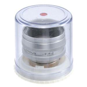 STEINHEIL BRAUN REFLEX QUINON 50mm F1.9 LENS DKL MOUNT / SOLD AS IS NO RETURN