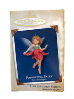 Hallmark Poinsettia Fairy Keepsake Ornament Collector's Series 2005 First