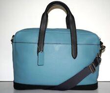 Coach Men's Hamilton Colorblock Pebbled Leather Briefcase Bag F29034