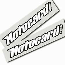 Motocard Jonathan Rea World SBK sponsor graphics stickers  x 2 pieces medium