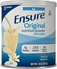 Ensure Original Nutrition Milk Powder Vanilla Shake Supplement Meal Replacement