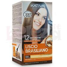 Kativa Kit Trattamento professionale Stiratura Liscio Brasiliano