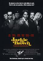 "Reproduction ""Jackie Brown"", Movie Poster, Tarantino, Home Wall Art"