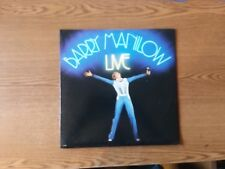 1977 VG RARE Barry Manilow Live AL 8500 LP33