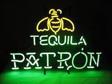 """Patron Tequila Neon Light Sign 32""""x24"""" Lamp Poster Real Glass Beer Bar"""