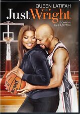 NEW DVD - JUST WRIGHT - Common, Queen Latifah, Paula Patton, Phylicia Rashad
