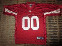 Arizona Cardinals #00 Football Reebok NFL Jersey LG L