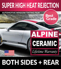 ALPINE PRECUT AUTO WINDOW TINTING TINT FILM FOR PORSCHE 911 TURBO CONV. 04-06