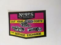 Retro Mining Sticker - Noyes All Australian - Cut your costs think Service Excha