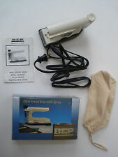New Bep Mini Travel Iron with Spray Vintage Very Rare Only 1 On Ebay