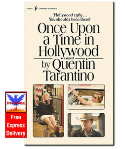 ONCE UPON A TIME IN HOLLYWOOD Quentin Tarantino PAPERBACK