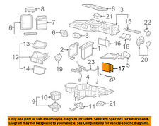 GM OEM Evaporator Heater-Valve Left 89018306