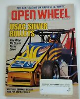OPEN WHEEL Magazine July 2001 USAC Silver Bullets Sprint Cars Auto Racing