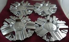 RS Wheels Chrome Custom Wheel Center Caps Set of 4 # CSRSW11-1P