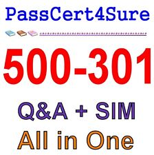 Cisco Cloud Collaboration Solutions 500-301 Exam Q&A+SIM
