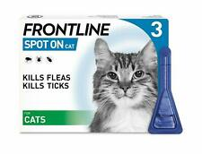More details for frontline spot on flea & tick treatment for cats - 3 pipettes