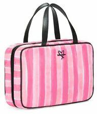 VICTORIA'S SECRET ~ PINK STRIPED ~ MAKE-UP BAG / TRAVEL BAG ~ PURE QUALITY 1