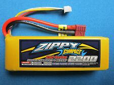 ZIPPY COMPACT 2200mAh 3S 11.1V LIPO BATTERY DEANS T HELI PLANE QUAD BOAT CAR FPV
