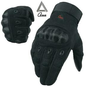 Motorbike Motorcycle Motocross BMX Tactical Paintball Gloves Knuckle TouchScreen