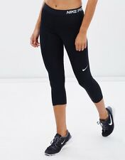 BNWT  Nike Pro Hypercool Black Capri/Cropped Tights 839999  010   Size : XL