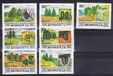 Mongolia postfris 1982 MNH 1489-1495 - Flora (p259)