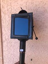n°4) ancienne lampe de calèche  /  lanterne à bougie / vintage  FIACRE