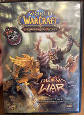 WORLD OF WARCRAFT TRADING CARD GAME DRUMS OF WAR BATTLE DECK (2008) NEW OPEN BOX