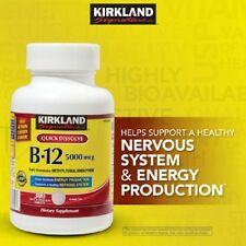 Kirkland Vitamin Sublingual B-12 5000mcg - Cherry flavor - 300 tablets - NEW