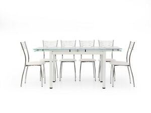 Table 608 From Lunch, Plan Glass, Extensible