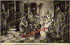 Fritz Roeber Antike Ägypten Tempel Harem Frauen Ramses III. Pentaur Justiz 1898