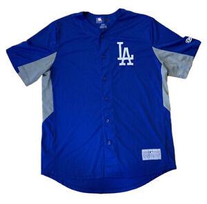 LA Dodgers Jersey Official MBL Merchandise Mens Size Medium Los Angeles Baseball